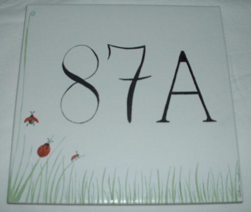 Plaque de maison personnalisable 20x20cm