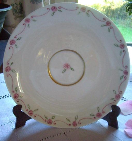 Service à thé en porcelaine petites roses