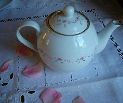 Service à thé «petites roses»