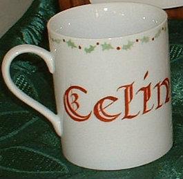 Mug personnalisé avec prénom écriture personnalisée