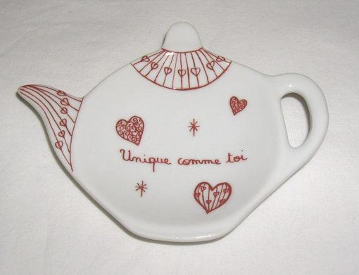 Repose thé «Saint Valentin»
