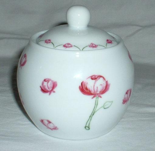 Service à thé «roses»