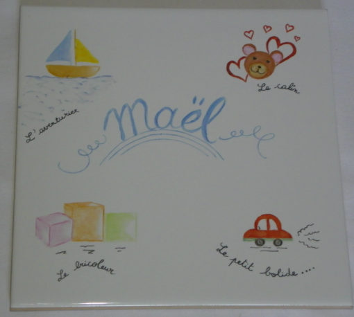 Carreau mural personnalisable