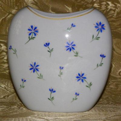 Vase motif barbeaux