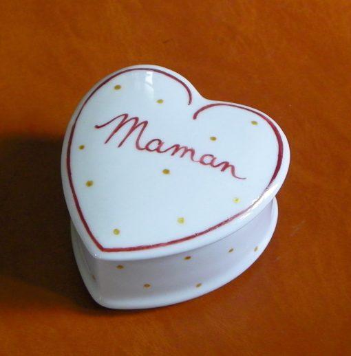 Boite coeur idée cadeau fête des mères