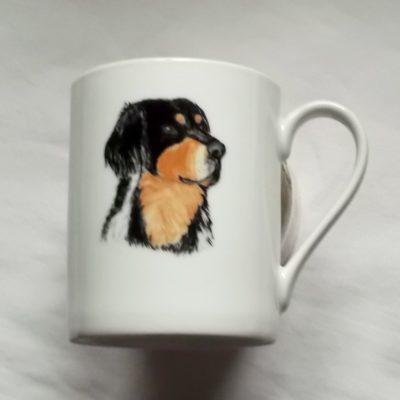 Mug décor chien personnalisable