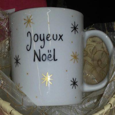 Mug de Noel personnalisé